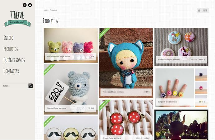 Your Pinterest style online shop, now with Oleoshop |
